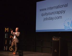 International quit your crappy jobday