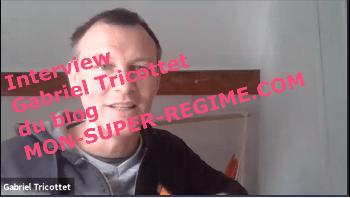 Interview de Gabriel Tricottet du blog mon-super-régime.com