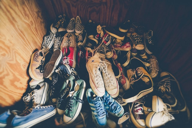 trier ses chaussures