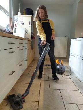 partage des tâches ménagères en famille