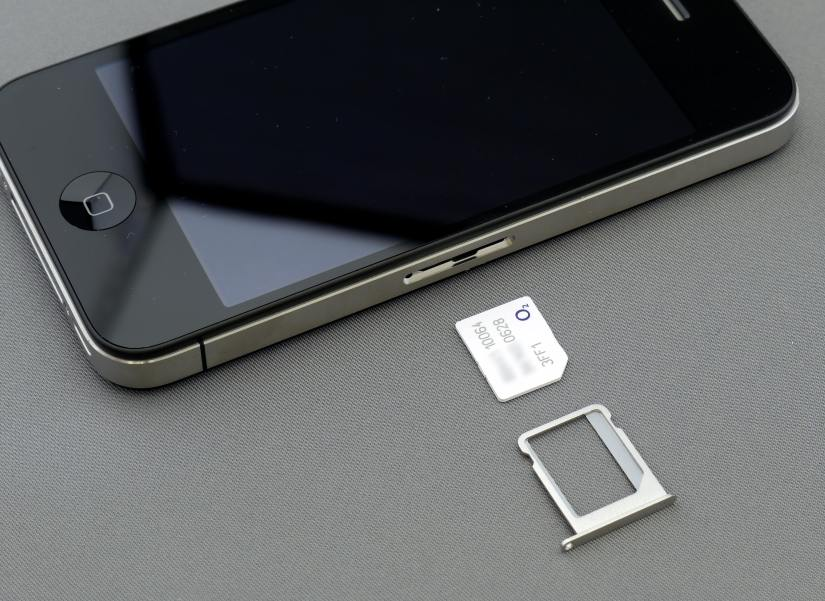 With the eSIM, there is no need to insert a SIM card into the smartphone.