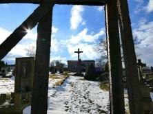 Friedhof an der Kirche Petrovice