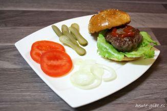 Hamburger selbst gebastelt