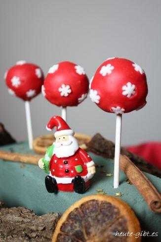Cake-Pops zum Nikolaustag