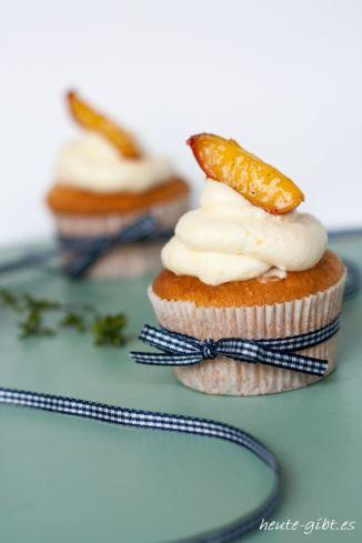Zitronencupcakes mit Thymian