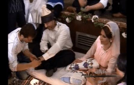 Wie eine kurdische Hochzeit ist  Hvron