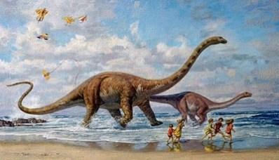 Jika Dinosaurus Masih Ada  Koleksi Hewan Purba