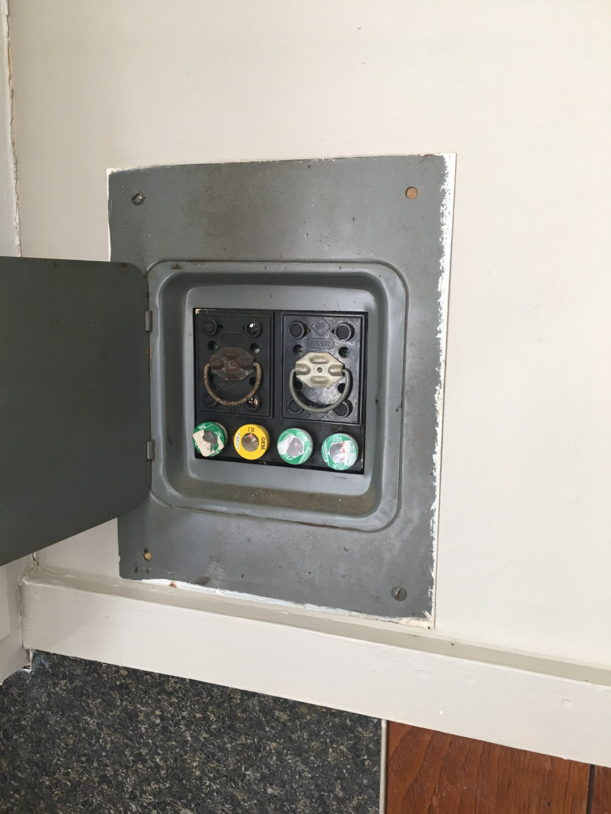 small resolution of residential fuse box parts