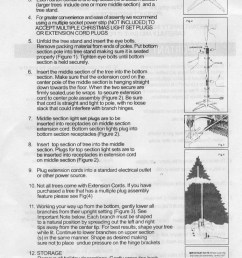 instruction sheet for pre lit pg2 [ 760 x 1097 Pixel ]
