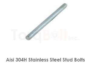 Aisi 304h Stainless Steel Stud Bolts