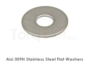 Aisi 309h Stainless Steel Flat Washers