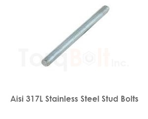 Aisi 317l Stainless Steel Stud Bolts