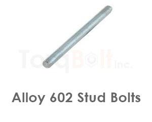 Alloy 602 Stud Bolts
