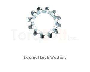External Lock Washers