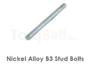 Hastelloy B3 Stud Bolts