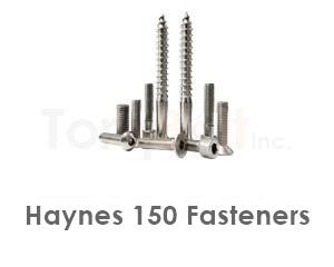 Haynes 150 Fasteners like Heavy Hex Bolts Screws Nuts Washers