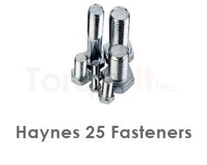 Haynes 25 Fasteners like Heavy Hex Bolts Screws Nuts Washers