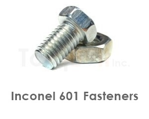 Inconel 601 Fasteners Heavy Hex Bolts Screws Nuts Washers