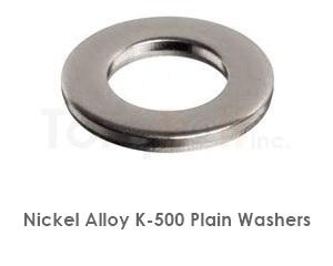 Monel K-500 Washers