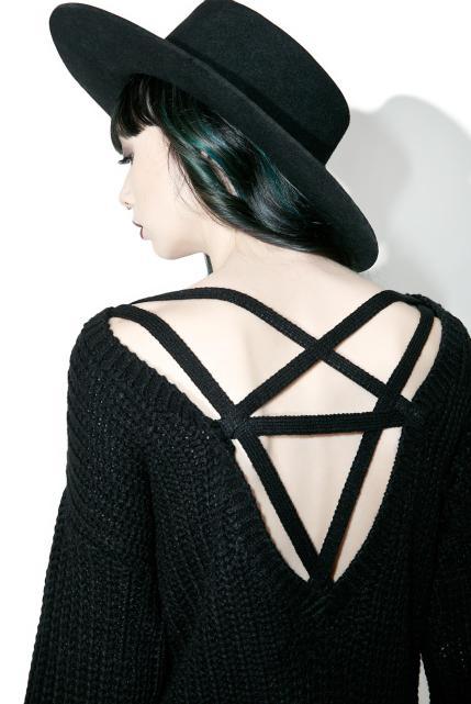 Killstar Sinthya Knit Sweater