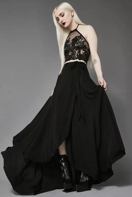 Widow The Rapture Wrap Maxi Skirt