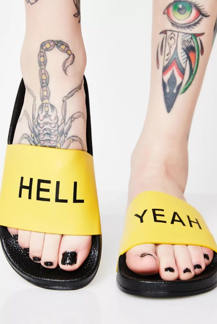 Hell Yeah Yellow Slides