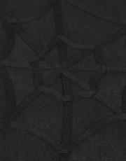 Punk Rave Casual Cotton Spider Web Cardigan
