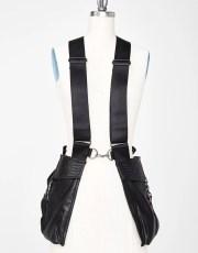 Club Exx Snakeskin Unisex Utility Pocket Vest