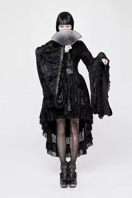 Punk Rave Goth Kimono Dress