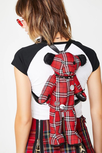 Current Mood Rebel Misfit Teddy Backpack