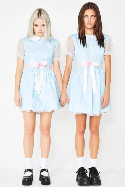 Halloween Dolls Kill Creepy Twin The Shining Babydoll Costume