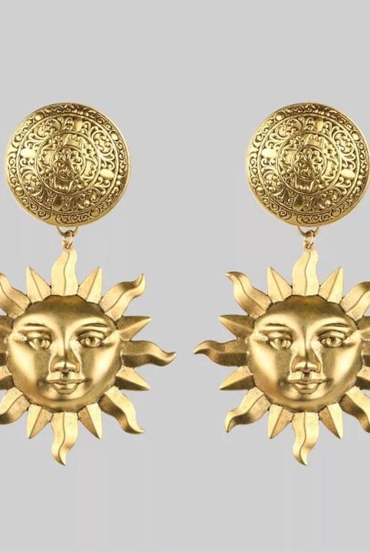 Regal Rose Gold Arlana Earrings