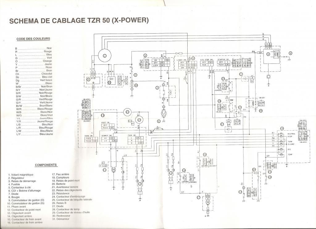 Schema Electrique Quad Chinois 50cc