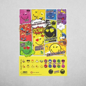 Smiley Halves Comic Book