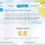 Symptom Tracker Score screenshot