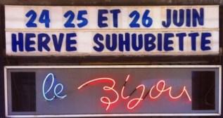 Suhubiette au Bijou