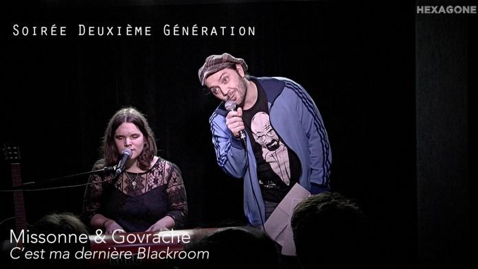 Missonne & Govrache – C'est notre dernière Blackroom