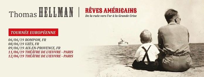 Gagnez vos places pour Thomas Hellman, les 11 et 12 juin à Paris