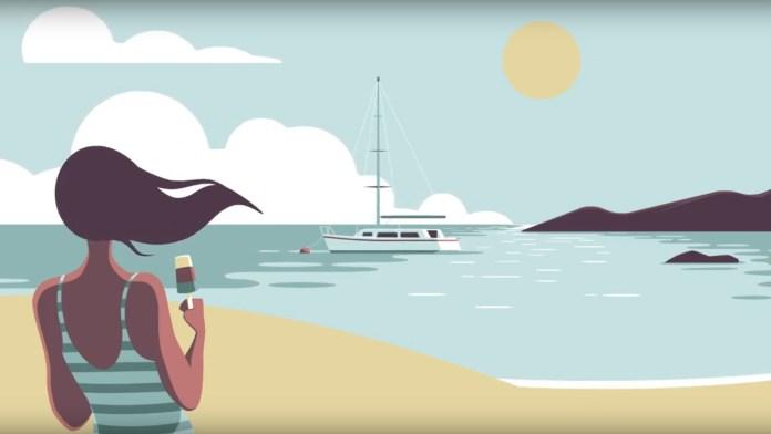 Camille Feist – Les vacances au bord de la mer