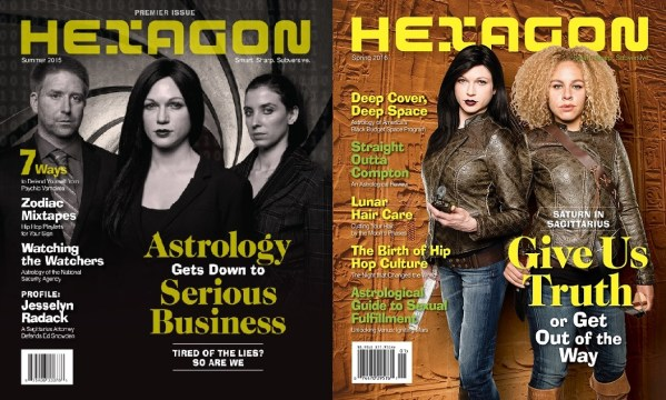 Hexagon Issue #1 and Issue #2