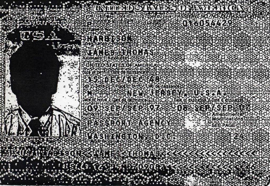 Photocopy of driver's license issued to a CIA agent for a black bag job