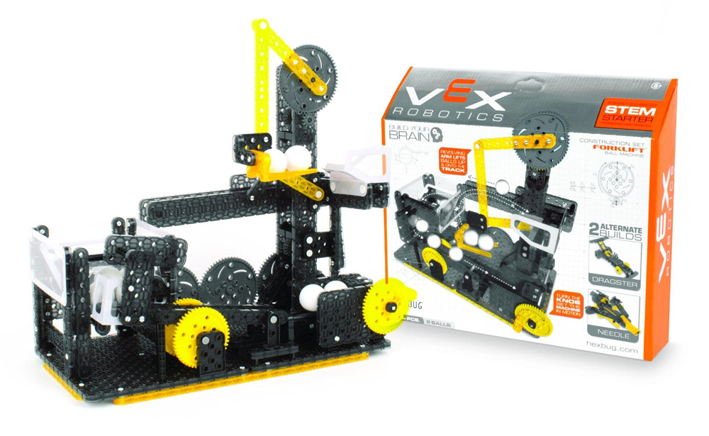 Hexbug Forklift Ball Machine