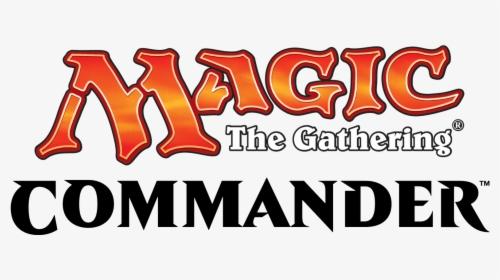 "Logo med teksten ""Magic the Gathering Commander"""