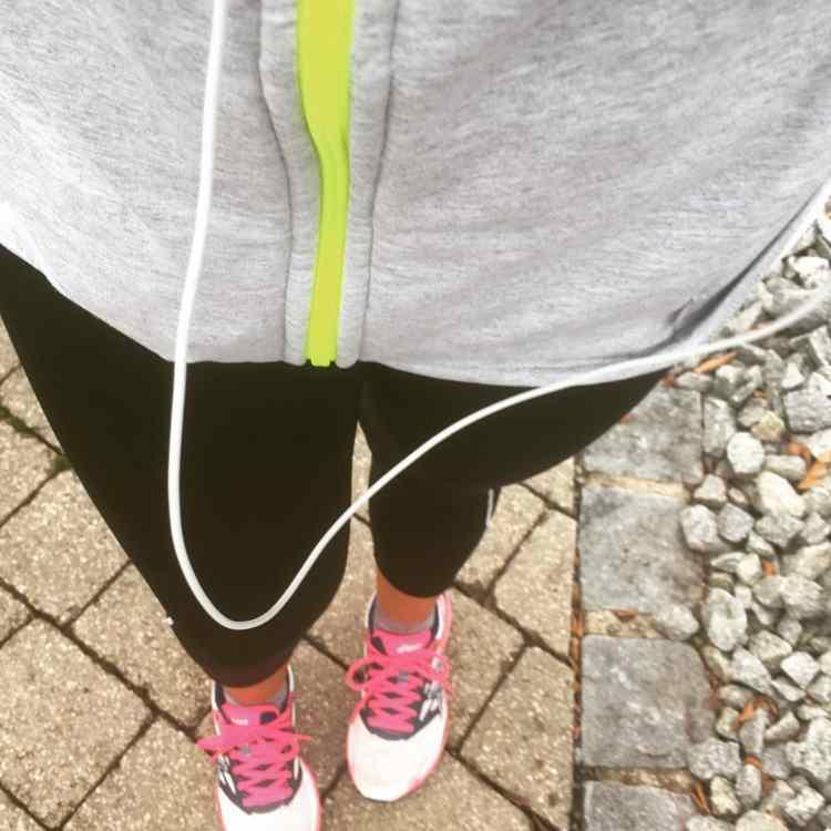joggen und Gedanken