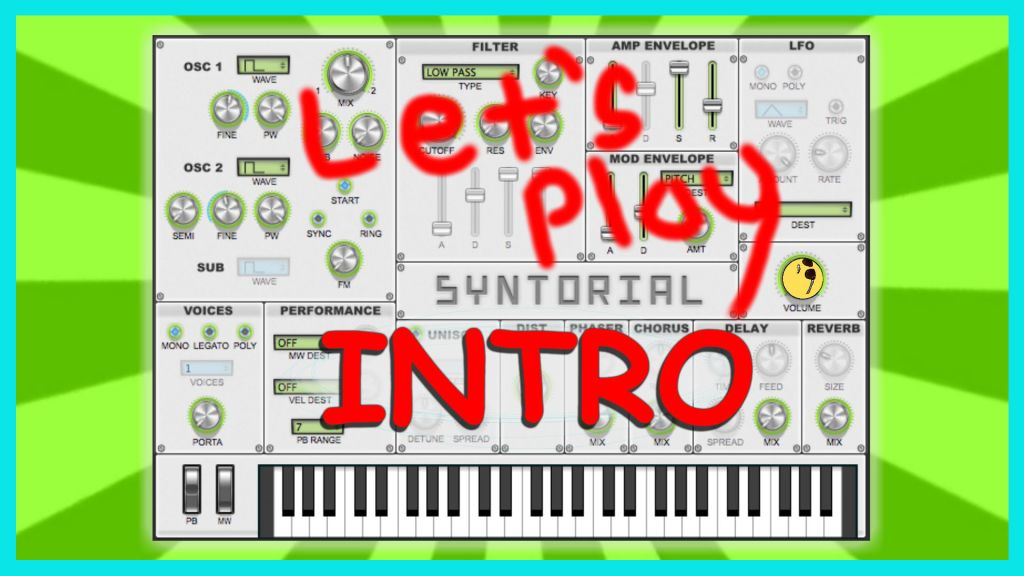 easy synth programming - intro