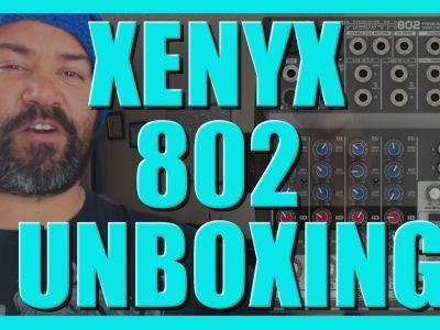Xenyx 802 Behringer Unboxing