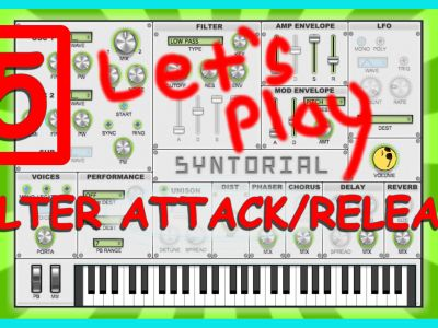 Easy Synth Programming – Filter Envelope Pt 1