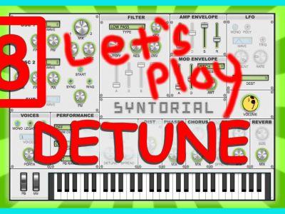 Easy Synth Programming – Detune