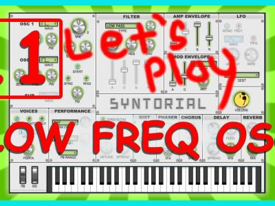 Easy Synth Programming – Synth LFO