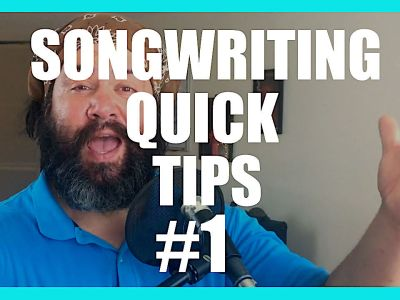 Hit Record – Song Writing Quick Tips 1